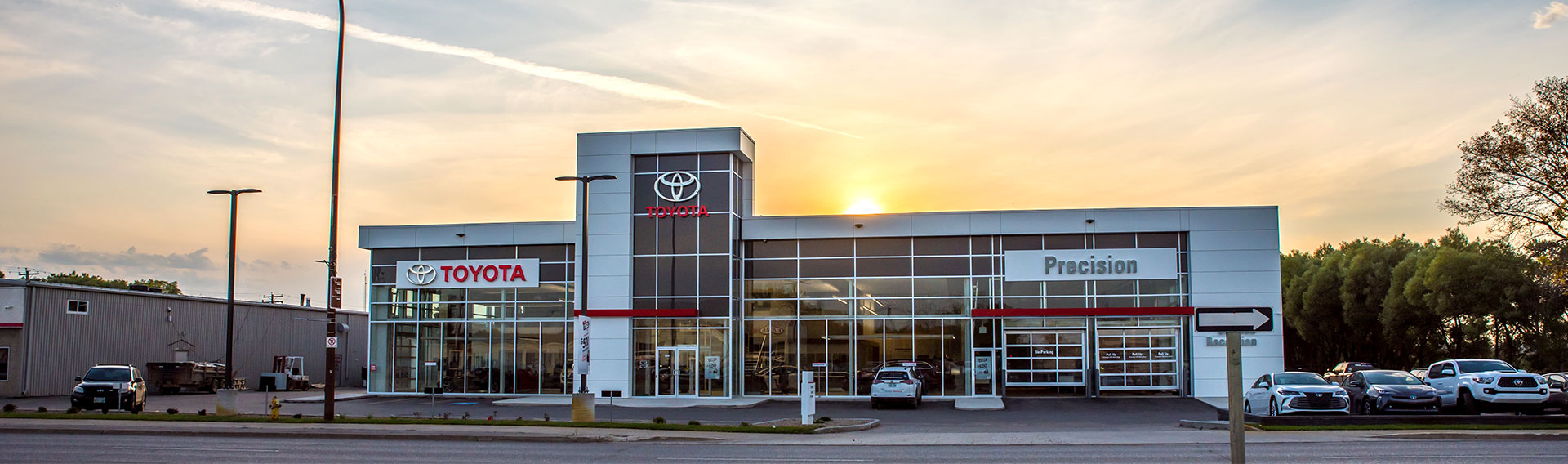 PrecisionToyota by Crane Steel Structures